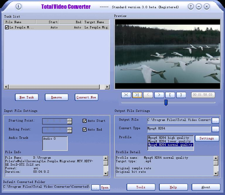 registration code for total video audio converter